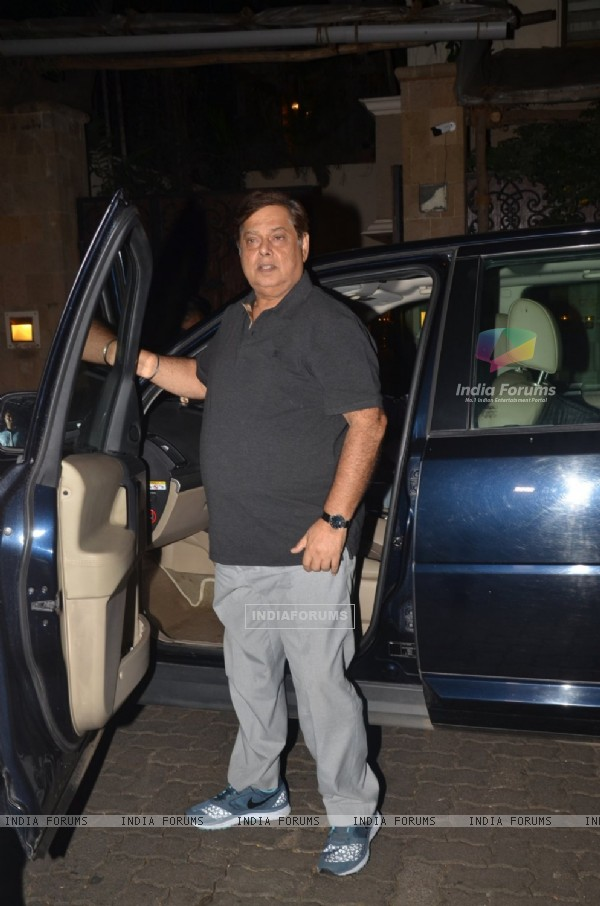 David Dhawan at Anil Kapoor's Ganesh Chaturthi Celebrations!