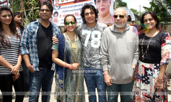 Celebs at Inauguration of Aadesh Shritastava Chowk