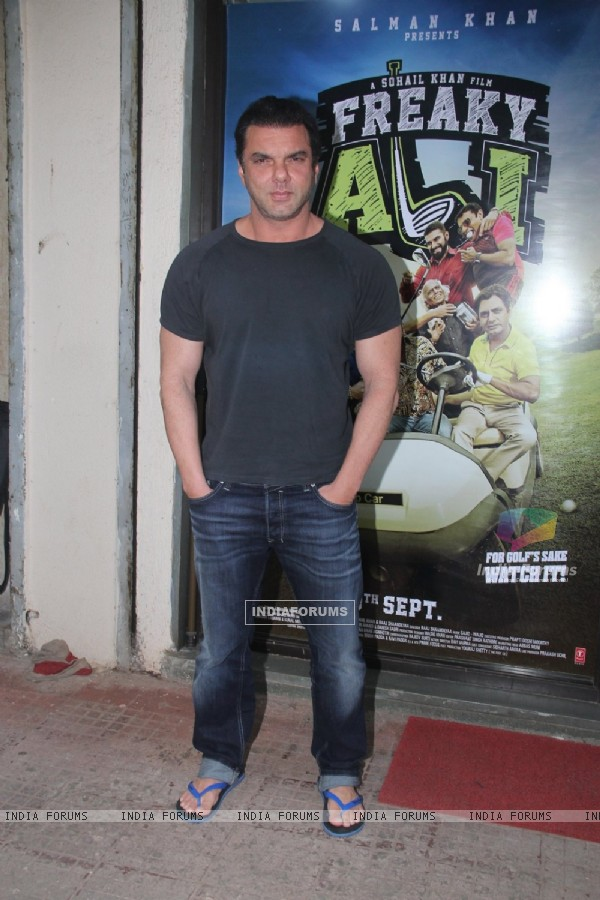 Sohail Khan at Promotion of 'Freaky Ali'
