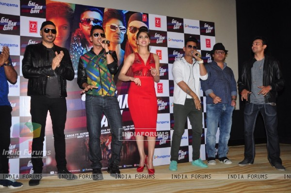 Vidyut Jamwal, Meet Bros and Urvashi Rautela at Launch of song 'Gal Ban Gayi'