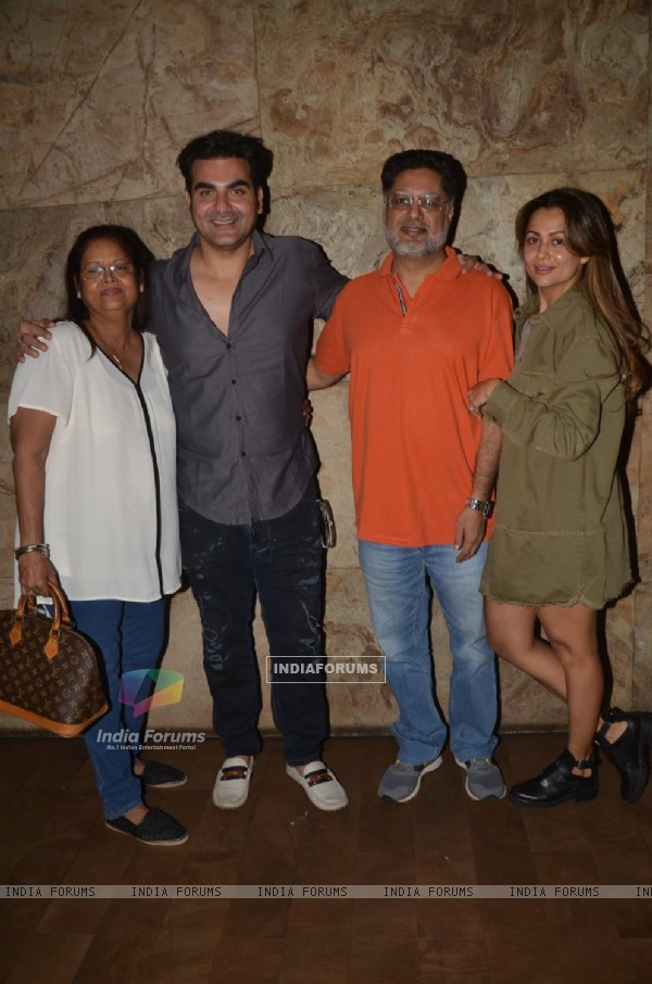 Amrita Arora and Arbaaz Khan at Special Screening of 'Freaky Ali'