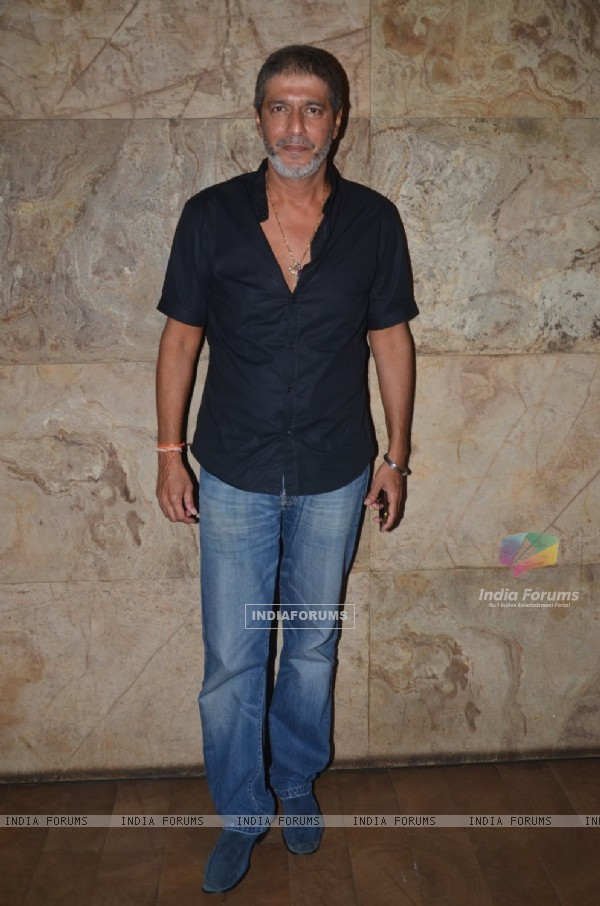 Chunky Pandey at Special Screening of 'Freaky Ali'