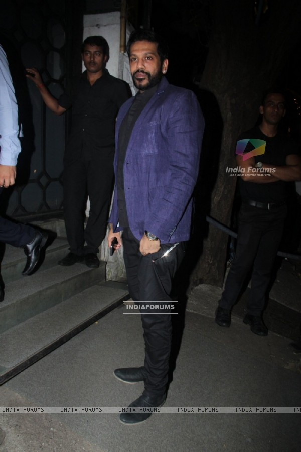 Rocky Star at Birthday Bash of Raj Kundra