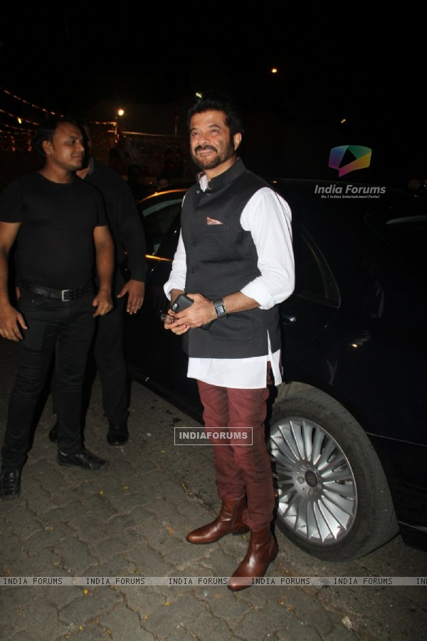Anil Kapoor at Birthday Bash of Raj Kundra