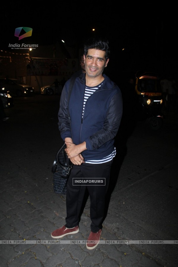 Manish Malhotra at Birthday Bash of Raj Kundra