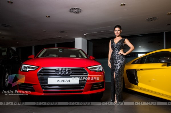 Nimrat Kaur at AUDI A4 Launch!
