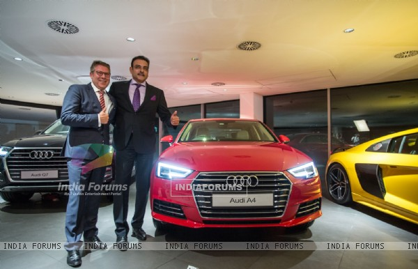 Ravi Shastri at AUDI A4 Launch!