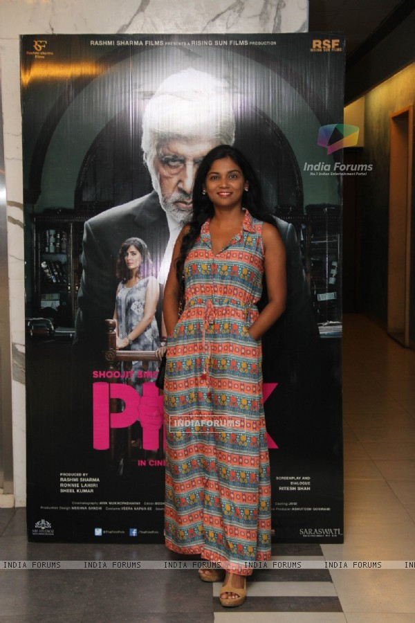Usha Jadhav at Special screening of Film 'Pink'