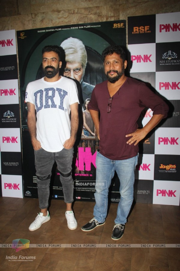 Shoojit Sircar at Special screening of Film 'Pink' at Light Box
