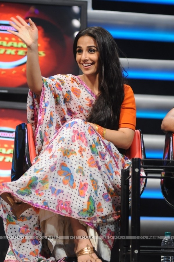 Vidya Balan in Star Plus - Music ka Maha Muqqabla