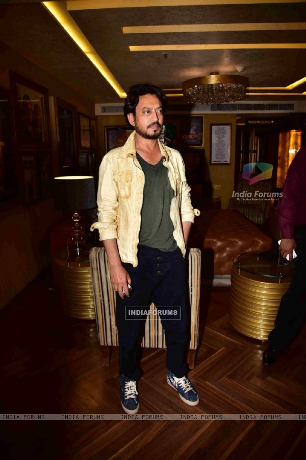 Irrfan Khan at Premiere of PINK in Delhi