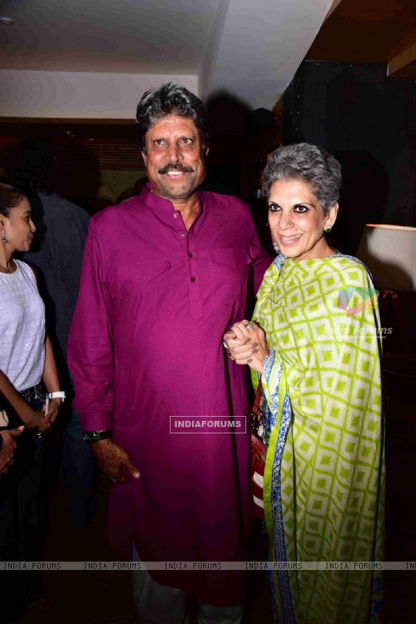 Kapil Dev at Premiere of PINK in Delhi