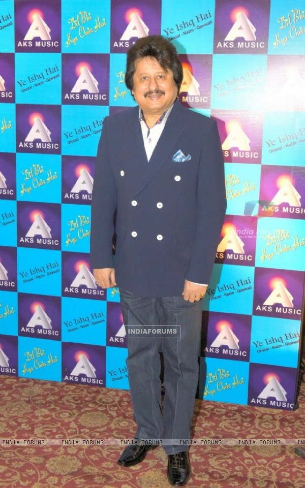 Pankaj Udhas at Launch of Album 'Yeh Ishq Hai'