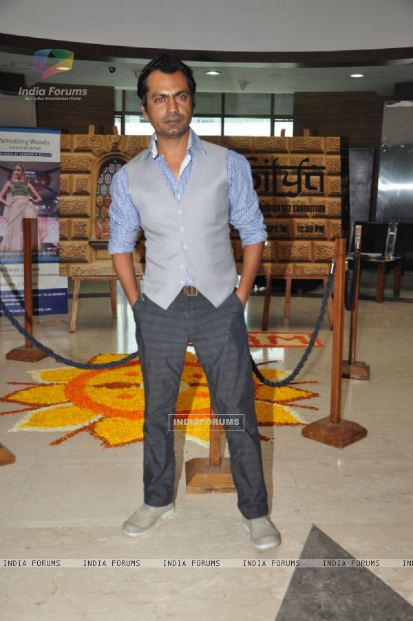 Nawazuddin Siddique at Whistling Woods