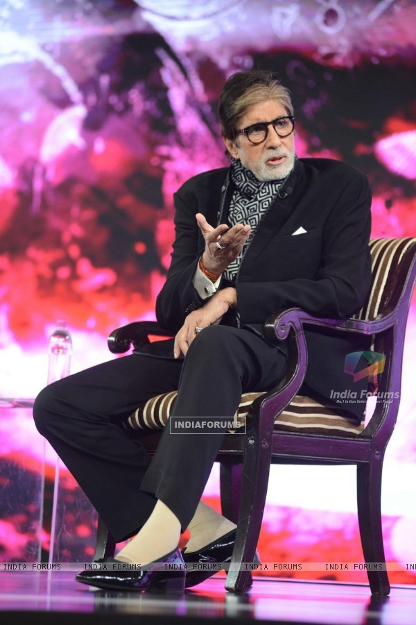 Amitabh Bachchan at NDTV Program 'Youth for Change'