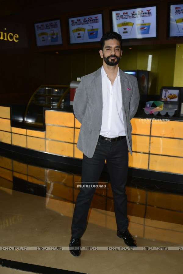 Angad Bedi at Success meet of 'Pink'