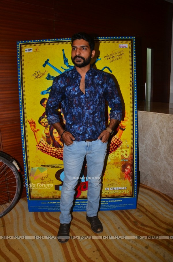 Jatin Sharma at Launch of film 'Saat Uchakkey'