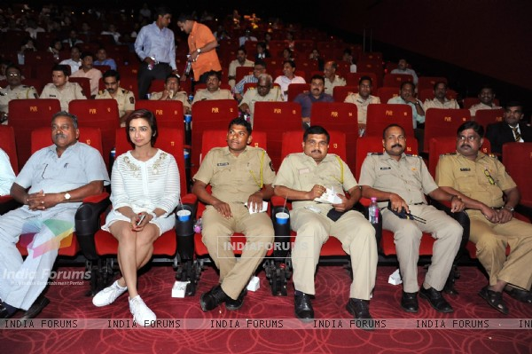 Rashmi Sharma held PINK screening for the Mumbai Police