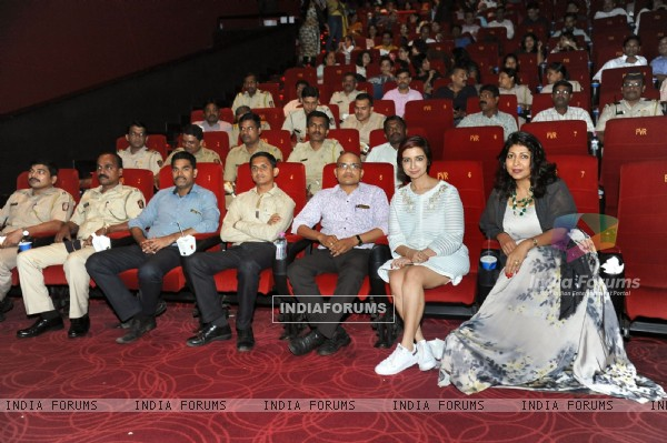 Rashmi Sharma and Vibha Bakshi held PINK screening for the Mumbai Police