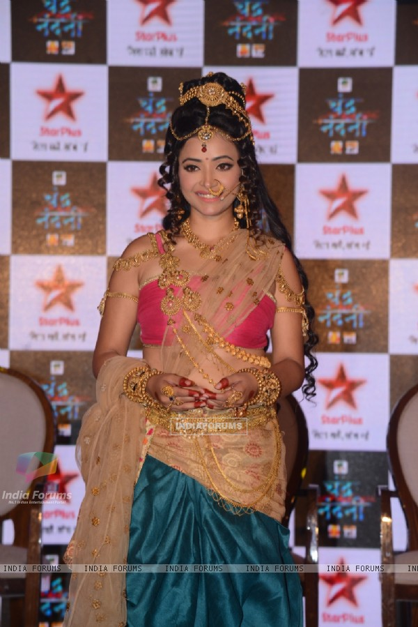 Shweta Basu Prasad at Press meet of STAR Plus's upcoming show Chandra-Nandni