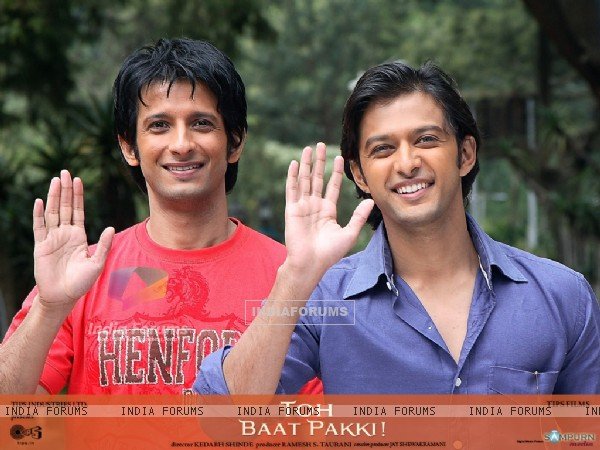 Sharman and Vatsal doing see-off