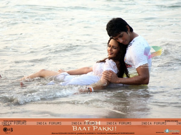 Romantic scene of Sharman and Yuvika (42117)