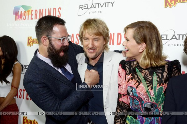 Celebs at Hollywood premiere of the movie Masterminds
