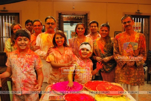 Sukh by Chance cast celebrates holi