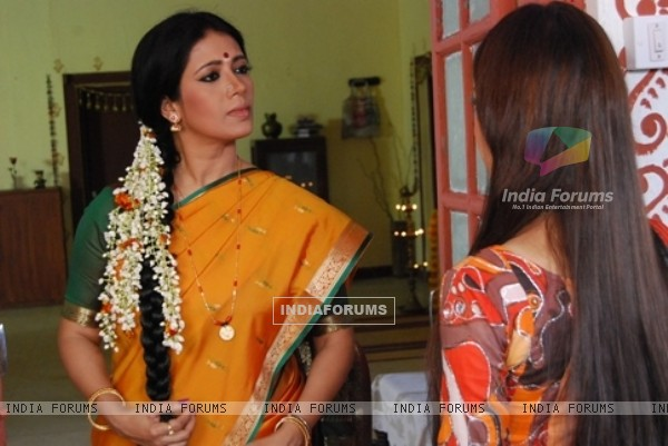Still from tv show Bidaai