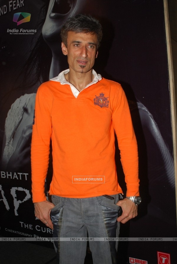 Rahul Dev in the movie Shaapit