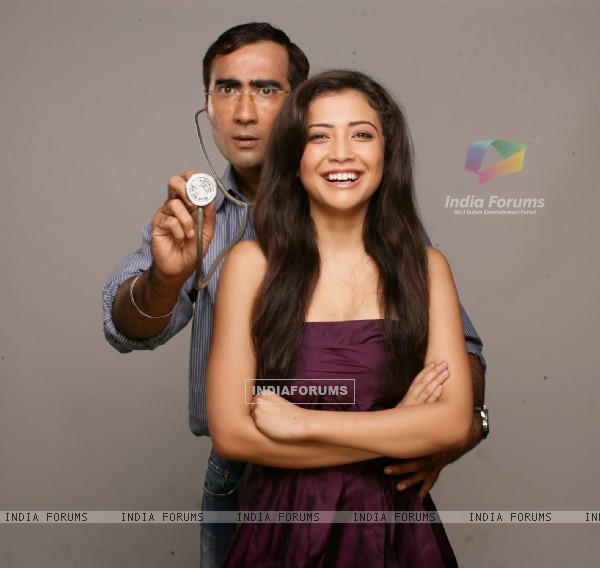 Ranvir and Geetanjali in the movie Tina Ki Chhabi