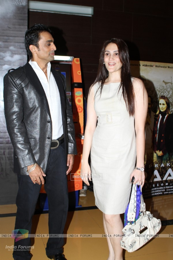 Still image of Eva Grover and Anuj Saxena