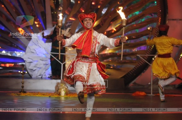 Akkshat''s performance in tv show Zara Nachke Dikha