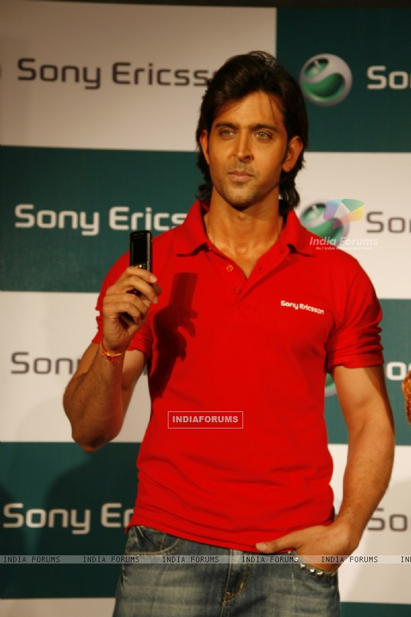 Sony Ericsson announced Hrithik Roshan as their brand ambassador for india and SAARC region at a media meet held at Yashraj Studio in Mumbai