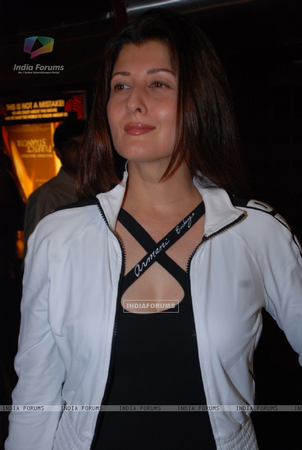 Sangeeta Bijlani at Premiere of the movie Perfect Stranger at PVR, Mumbai on April 10