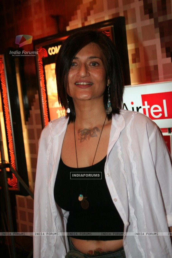 Sarika premiere of the movie Bheja Fry in Mumbai on April 12