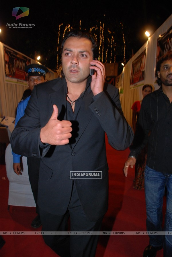 Bobby Deol at Music launch of the movie Jimmy