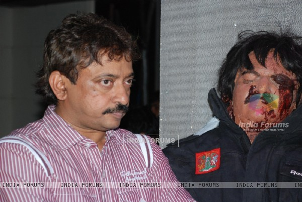 Ram Gopal Varma at the Press Meet of Agyaat
