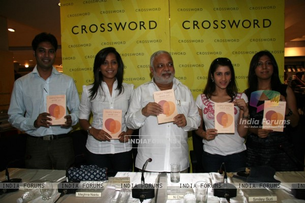 Meghna Naidu and Smiley Suri at the launch of ''Simple Things Make Love book'' at PVR Juhu, in Mumbai