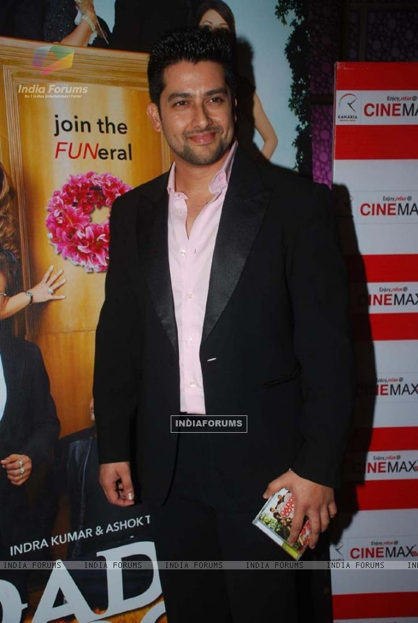 Aftab Shivdasani at Daddy Cool film music launch at Cinemax in Mumbai