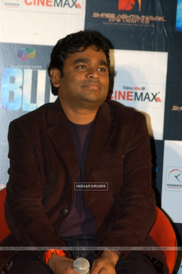 A R Rahman at Blue film music preview at Cinemax