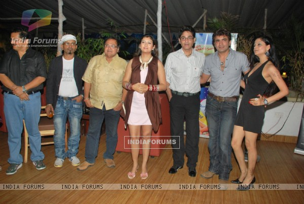 Tiku Talsania, Rakesh Bedi, Juhi Parmar, Asif Sheikh, Raja Chaudhary and Gulshan at the success bash of
