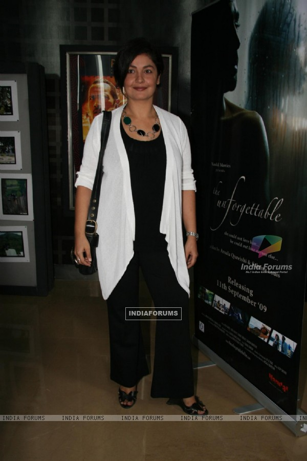Pooja Bhatt at Ismail Darbar''s music for film The Unforgettable at PVR, in Mumbai