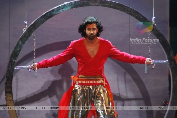 "Hrithik Roshan at the ""Rajiv Gandhi Awards"""
