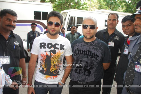 "Vishal and Shekhar at the ""Rajiv Gandhi Awards"""