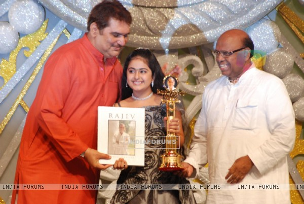 "Avika gor at the ""Rajiv Gandhi Awards"""