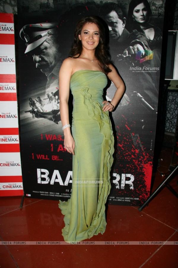 "Urvashi Sharma at the launch of film ""Baabar"""