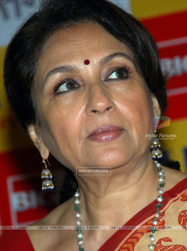 Sharmila Tagore launched the website of Big Pictures film ''Samaantar'' in Kolkata on Tuesday 25th Aug 09