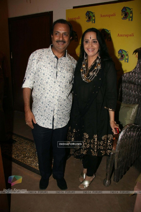 Ila Arun at Amparpali Jewels launch