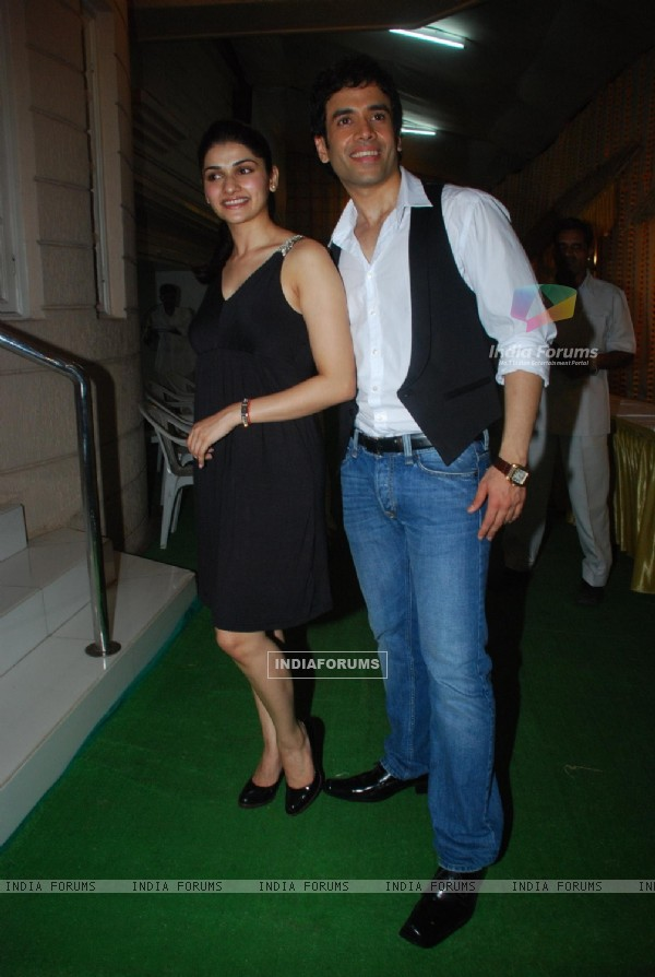 "Prachi Desai and Tushar kapoor at ''''Life Partner"" success bash"